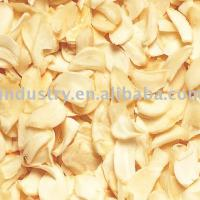 Large picture dehydrated garlic flakes