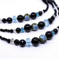 Large picture Beads Necklace Top Fashion crystal necklace