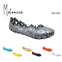 Large picture pvc lady's jelly slippers,sandals,