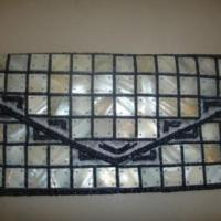 Large picture Beaded and shell wallet