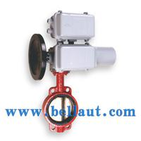 Large picture Electric control butterfly valve