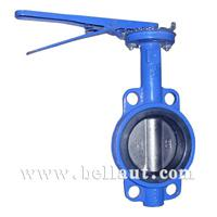 Large picture Manual-operated wafer butterfly valve