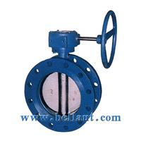 Large picture Flanged concentric butterfly valve