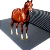 Large picture horse stall mat