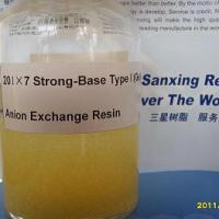 Large picture Strong-Base Type I (Gel) Anion Exchange Resin