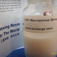 Large picture Macroporous Styrene strong base anion resin
