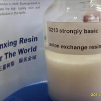Large picture macroporous strong base acrylic anion resin
