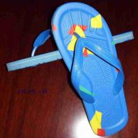 Large picture rubber slipper/ sandal/shoe