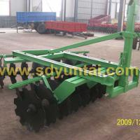 Large picture offset disc harrow