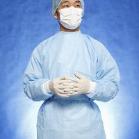 Large picture surgical gown