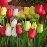 Large picture real touch artificial tulip flower