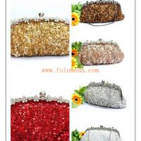 Large picture evening bag