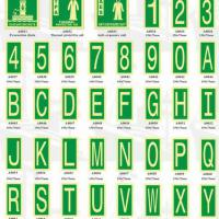 Large picture Safety Signs - Number