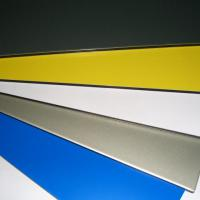 Large picture PVDF coated aluminum composite panel