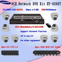 Large picture Low price 8ch H.264 CCTV DVR SYSTEM