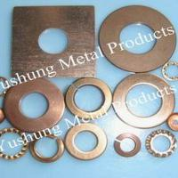 Large picture silicon bronze and phosphor bronze washer