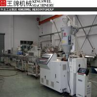Large picture PE/PP series precision small pipe extrusion line