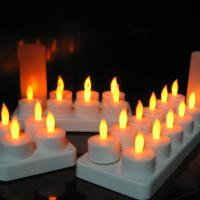 Large picture led rechargeable candle