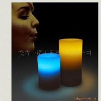 Large picture led blow on-off candle