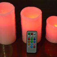 Large picture remote candle