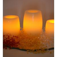 Large picture led decorative candle