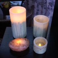 Large picture led craft candle  light