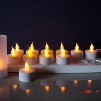 Large picture electronic rechargeable candle