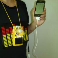 Large picture Solar Power Fan with LED Light & Mobile Charging