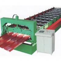 Large picture metal tile roll forming machine