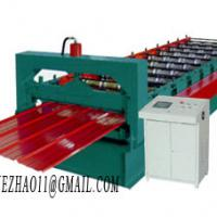 Large picture color steel tile roll forming machine