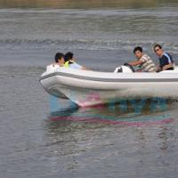 Large picture RIB boat4.3m,rigid inflatable boat---lianya boat