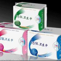 Large picture sanitary napkin with negative ion chip OEM