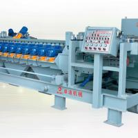 Large picture Double Belt Press Squaring/Chamfering Machine
