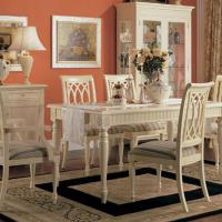 Large picture dining table