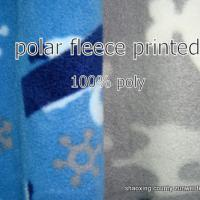 Large picture polar fleece fabric print