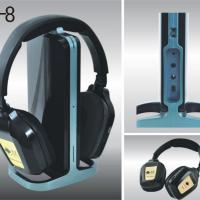 Large picture PC& TV wireless headphone usb headset with mic A8