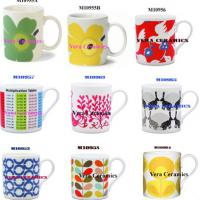 Large picture porcelain mugs with various designs,colors,shapes