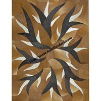 Large picture Patchwork leather carpets
