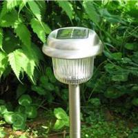 Large picture solar garden lamp