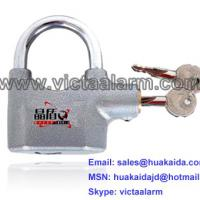 Large picture Heavy Duty Siren Alarm Padlock