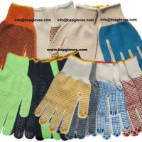 Large picture 7G PVC Dotted General Protection Work gloves