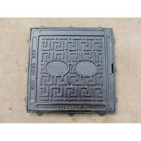 Large picture ductile iron manhole cover