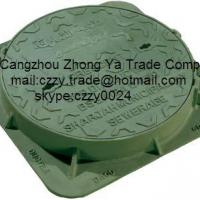Large picture heavy duty manhole cover