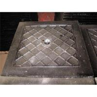 Large picture heavy duty ductile iron manhole cover