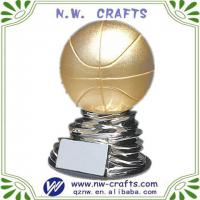 Large picture Resin basketball sports trophy