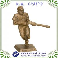 Large picture Sports player resin figurine