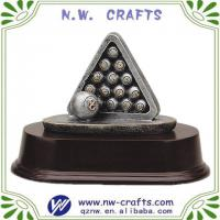 Large picture Billiards sport resin trophy figure