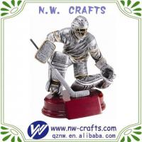 Large picture Polyresin hockey sports sculpture