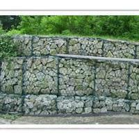 Large picture gabion wall