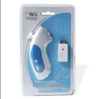 Large picture wireless nunchuk controller for wii